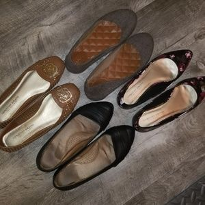 BUNDLE! Flats all size 8